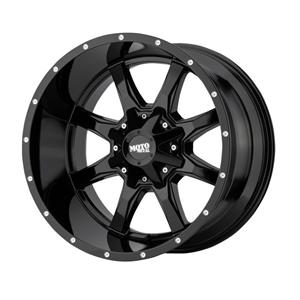 Alumiinivanne MO970 Gloss Black With Milled Lip | 8x17 | 6x127/135 | ET40 | KR87,1 mm