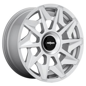 Alumiinivanne RC124 GLOSS SILVER | 8.5x19 | 5x100/112 | ET35 | KR66,5 mm