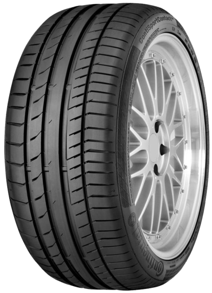 Continental ContiSportContact 5 MO, 245/40R19 XL FR 98 Y, G/A/)) 71 dB(A) kesärengas