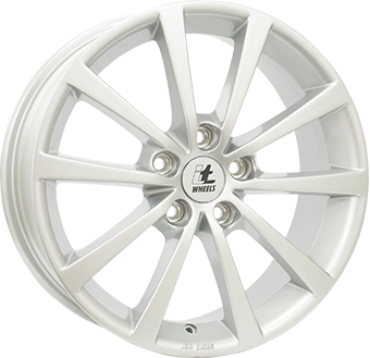 Alumiinivanne IT WHEELS Alice Silver | 7.0x17 | 5x100 | ET35 | KR57,1