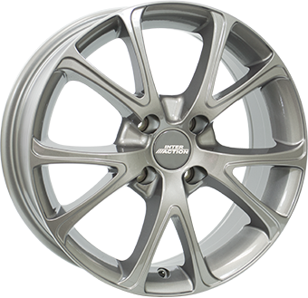 Alumiinivanne INTER ACTION 2 Pulsar Gloss Gray | 8.0x18 | 5x120 | ET35 | KR72,6